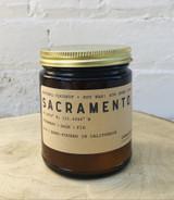 Sacramento: All Natural Soy Wax Candle