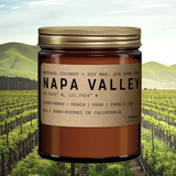 Napa Valley: All Natural Coconut Soy Wax Candle
