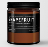 Grapefruit: All Natural Coconut Soy Wax Candle