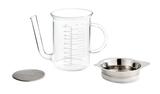 Glass Fat Separator/Gravy Strainer