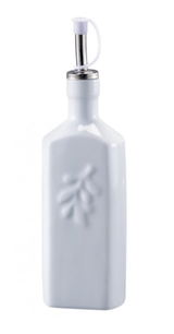White Porcelain Oil Bottle
