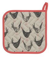 Chicken Scratch, Printed Potholder
