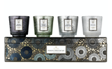 Voluspa Pedestal Candle Gift Set: Cool Tones