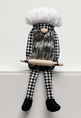 Gnome Baker with Rolling Pin