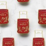 Vintage Mailbox Interactive Enamel Pin