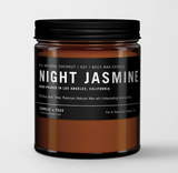 Night Jasmine: All Natural Soy Wax Candle