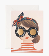 Birthday Girl, Rifle Paper Co. Blank Greeting Card