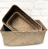 Basket & Filler with Gift Wrap