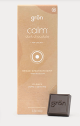 Calm Dark Chocolate, 15piece 30mg