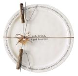 S'mores Plate & Skewers Set