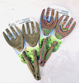 Pakkawood Salad/Pasta Servers, set/2--CHOOSE COLOR