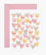 Valentine Sweethearts, Rifle Paper Co. Blank Greeting Card