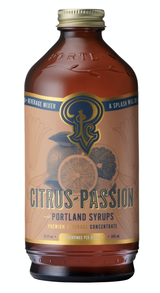 Citrus Passion Fruit: Cocktail & Soda Syrup
