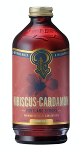 Hibiscus-Cardamom: Cocktail & Soda Mixer