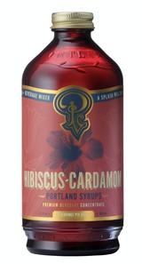 Hibiscus-Cardamom: Cocktail & Soda Mixer