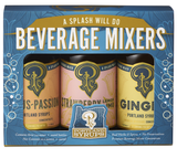 Citrus Passion-Strawberry Lemon Lime-Ginger Syrup Sampler Set