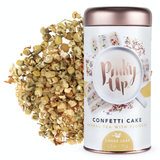 Confetti Cake: Loose Leaf Herbal Tea with Flowers