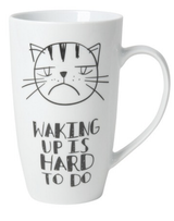 Mug: Waking Up is Hard To Do, 20oz