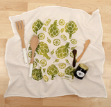 Artichoke - Flour Sack Towel