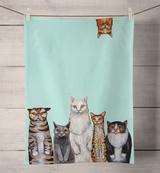Cats, Cats, Cats: Tea Towel