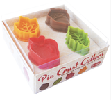 Pie Crust Cutters, set/4