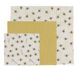 Now Designs Beeswax Wrap, set/3--CHOOSE DESIGN