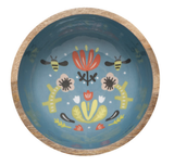 Frida: Mangowood Serving Bowl