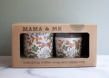 Mama + Me: Matching Coffee Mug & Sippy Cup
