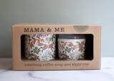 Mama + Me: Matching Coffee Mug & Sippy Cup