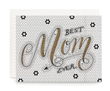 Mom Tile, Blank Mother's Day Greeting Card