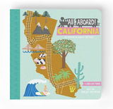 All Aboard! California, Board Book