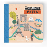 All Aboard! Paris, Board Book