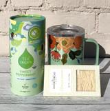 Rifle Corkcicle Mug + Mint Tea Drops + Lemon Shortbread Gift Set