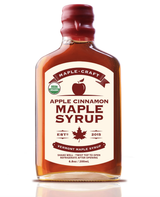 Apple Cinnamon Maple Craft Syrup, Organic, 200mL