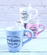 Sweet Bunny Mug--CHOOSE DESIGN/COLOR