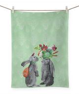 Morning in the Garden: Tea Towel
