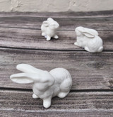 Ceramic Bunnies--CHOOSE SINGLES OR SET/6