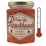 Mango Madness: Rose City Pepperheads Jelly, 12oz