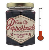 Marionberry Blast: Rose City Pepperheads Jelly, 12oz