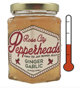 Ginger Garlic: Rose City Pepperheads Jelly, 12oz