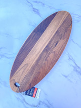 "Walnut Hudson Oval Server, 20""x8"""