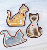 Cat Trinket Dish--CHOOSE DESIGN