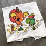 Taco Night, Tea Towel