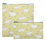 Goats, Reuseable Snack Bag, set/2