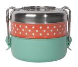 Tiffin Food Container, 2-Tier--CHOOSE COLOR