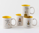 Busy Bee Mug, 4 Styles
