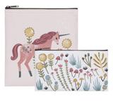 Unicorn, Reuseable Snack Bag, set/2