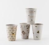 Busy Bees Melamine Cups, Set of 4
