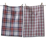 Arlo Plaid Dish Towels, set/2
