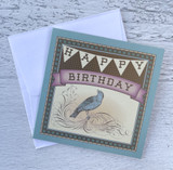 """Happy Birthday"" Birdie, Mini Card"